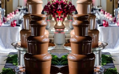 They'll Always Remember the Chocolate Fountain