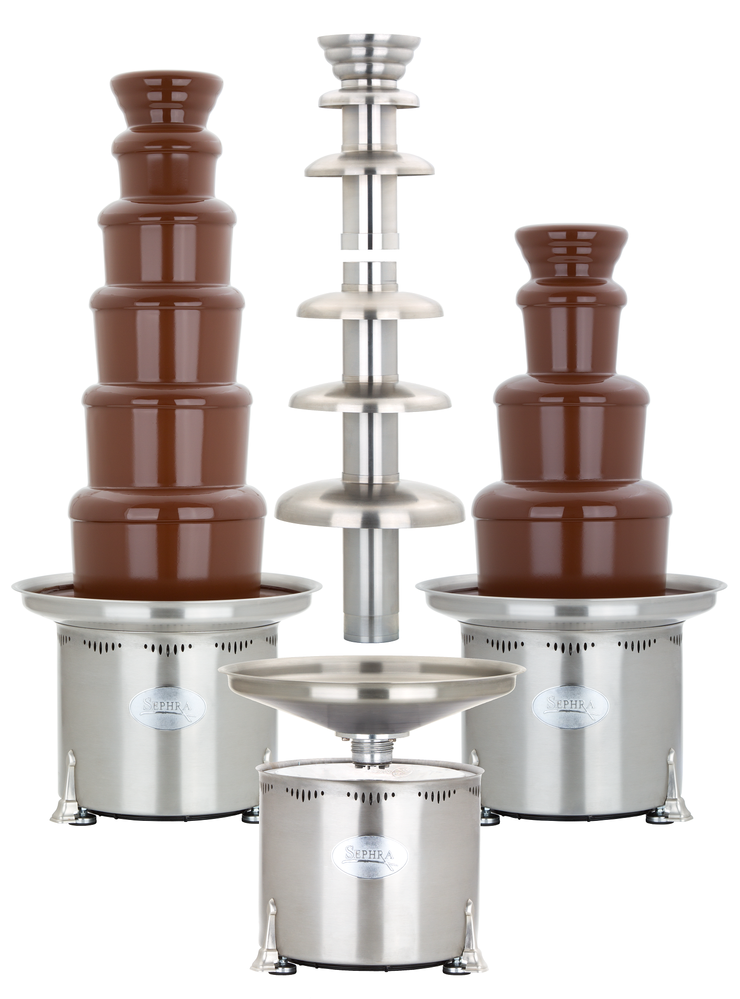 convertible commercial chocolate fountain