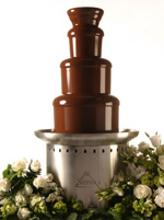 Setting the Commercial Chocolate Fountain Stage for Mother's Day