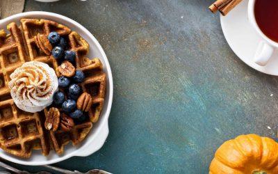 Belgian Waffle Recipes – Fall Flavors
