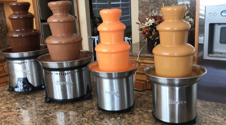 How to Clean a Sephra Chocolate Fountain