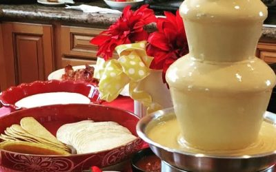 Cheese Fondue Fountain – Fun Party Appetizers or Go Main Dish