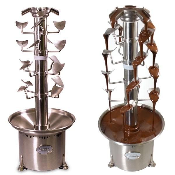 Sephra Cascade commercial chocolate fountain - cascading chocolate fondue