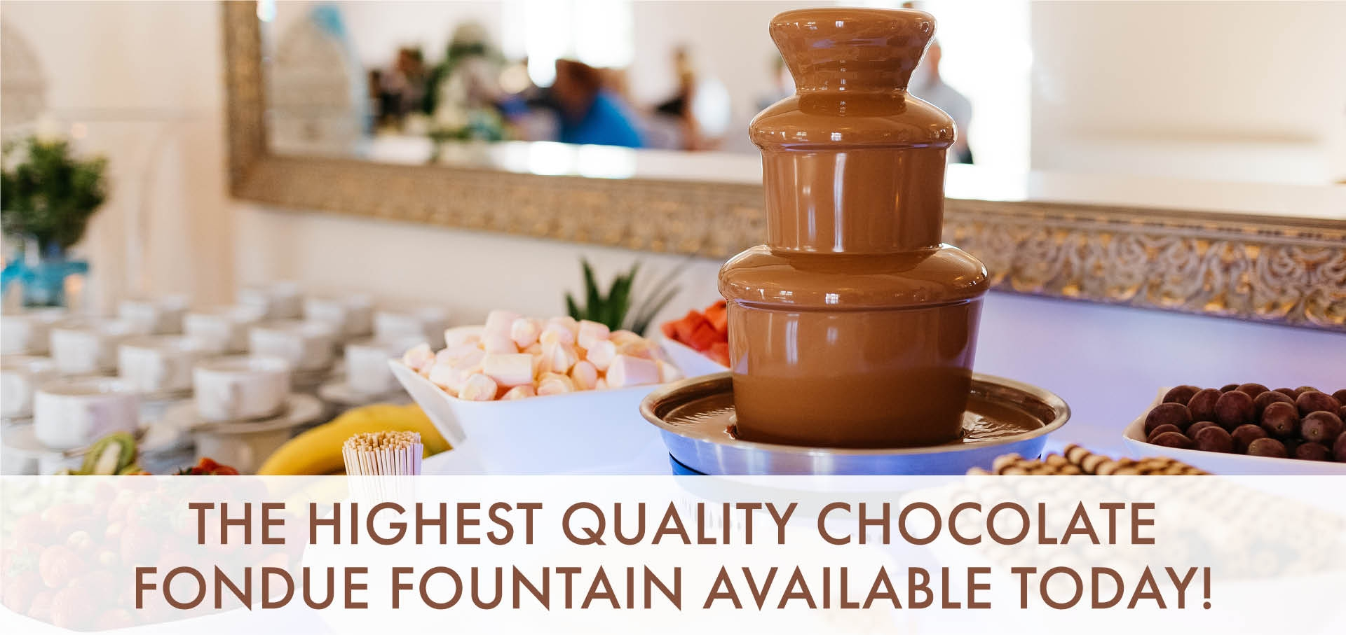Home Chocolate Fountains