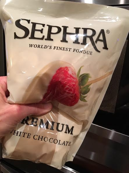 Sephra White Chocolate Fondue