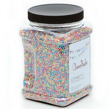 Candy and cake decorating confetti