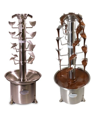 Chocolate Fountain and Cascade Tiers